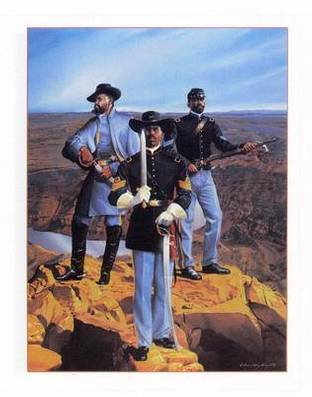 The Sentinels - Buffalo Soldier poster